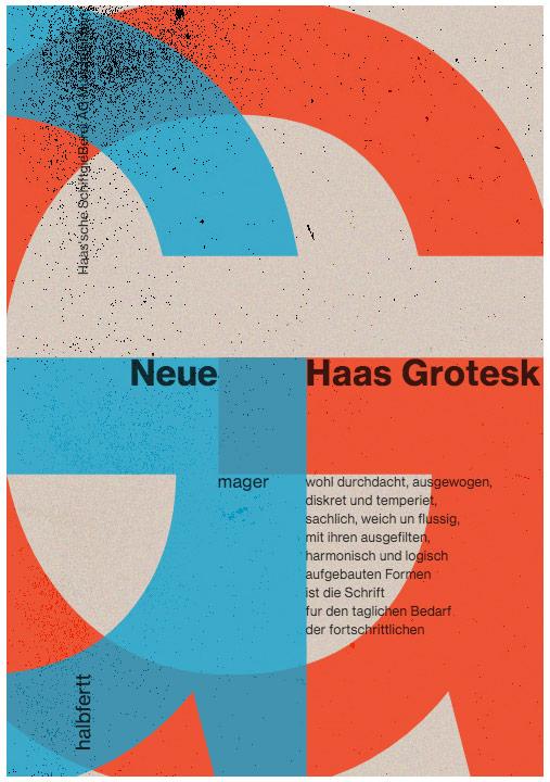Neue Haas Grotesk: A lunchtime type jam! - Steve Honeyman